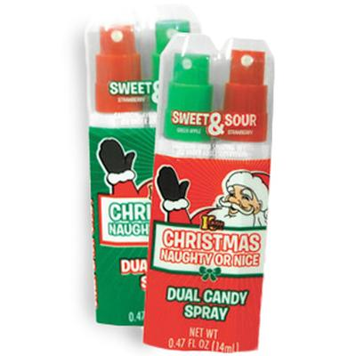Click to get Naughty OR Nice Spray Candy
