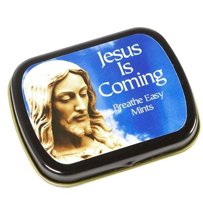Click to get Jesus Is Coming Breathe Easy Mints