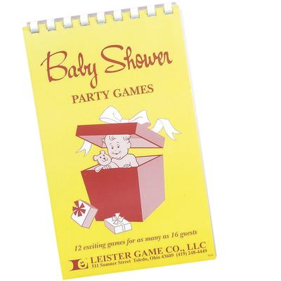 Click to get Baby Shower Party Games Book