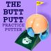 Butt Putt Practice Golf Putter