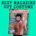 Magazine Cover Heartthrob Guy Costume